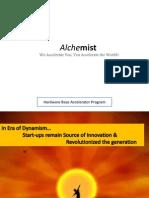 alchemist  accelerator program for hard-ware startups