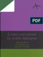 Castro, Francisco, Cómo encontrar tu estilo literario (113)