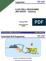 Flat Drill A