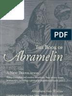 Book of Abramelin German to English Translation Von Worms Abraham
