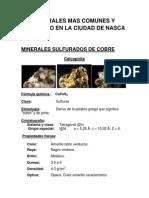 Minerales Mas Comunes y Conocido en La Ciudad de Nasca
