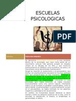 Trabajo de Escuelas Psicologicas (Autoguardado)