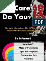 We Care, Do You