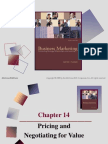 Chap014 Pricing & Negotiating