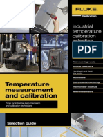 Temperature Measurement and Calibration Catalog