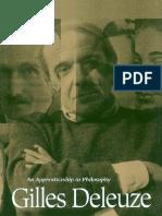 Michael Hardt Gilles Deleuze an Apprenticeship in Philosophy 19932