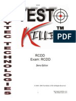 RCDD Practice Questions