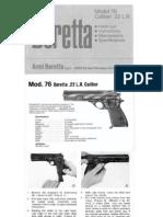 Beretta 76 UK