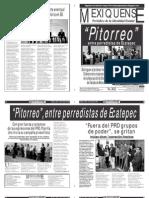 Versión impresa del periódico El mexiquense  23 julio 2013