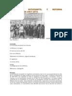 Movimiento Estudiantil y Reforma Universitaria 1967