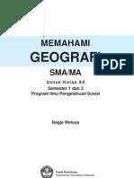 Geografi SMA XII