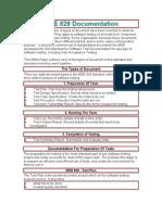 IEEE 829 Documentation.doc