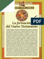 26.- La formación del Nuevo Testamesto