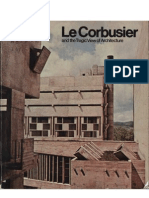 Le Corbusier - A Tragic View of Architecture