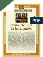 37.- Cristo, plenitud de la salvación