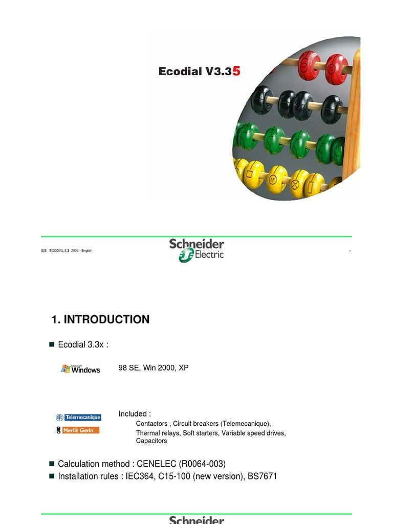 ecodial v3.37