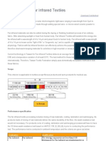 Standard Test Method Control for Far Infrared Fabrics
