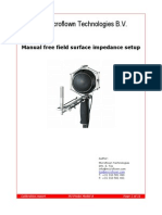 Manual Surface Impedance