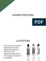 Examen Postural
