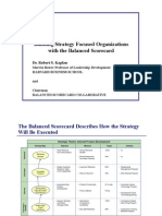 Building Strategy With Balanced Scorecard