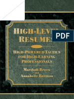 High Level Resumes