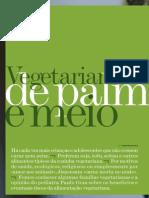 Alimentação Vegetariana para Bebés e Crianças