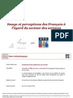 Image et perceptions des services par les Français