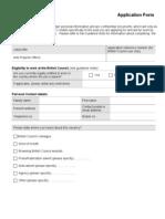 Romania External Application Form 2013 (1)