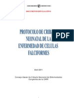 Protocolo Cribado Neonatal