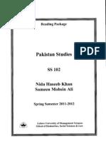 SS 102 - Pakistan Studies  by Nida Haseeb and Sameen Mohsin[1].pdf