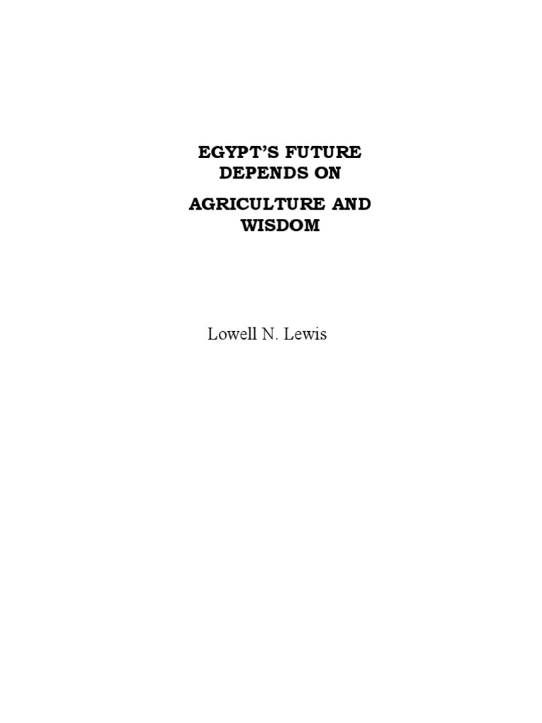August Final D Egypt Nile Agriculture - Groundwater prospect map of egypt's qena valley