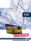 Challenge Hate Crime SEUPB 03 Political Parties and Hate Crime 20120800