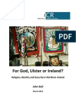 For God Ulster or Ireland Open University 20130300