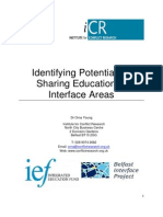 Identifying Potential for Sharing Education in Interface Areas 20130000