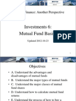17 Investments 6 - Mutual Fund Basics