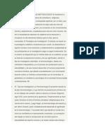 Avance III Metodologia