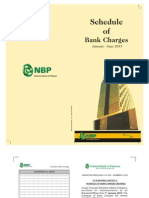 NBP Schedule of Bank Charges