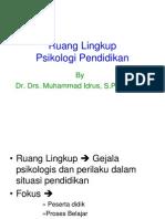 03 Ruang Lingkup Psikologi Pendidikan