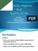 Sanitation Hygiene Quality of Life