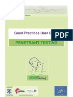Good Practices User Guide - Penetrant Testing