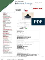 Motion Industries - detalles paramétricos - TFT 16 TC-1 FLG BRG
