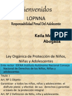 Diapositivas De Responsabilidad Penal Del Adolescente  En Venezuela