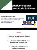 2008 06 11 Propiedad Intelectual en Software