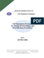 IAF MD 3-2008  ASRP_Pub