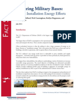 DoD Installation Energy Fact Sheet