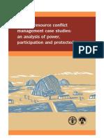 Natural Resource Conflict