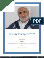 کتاب اشعار کریمی مراغه ای | Kərimi Mərağeyi Şeirləri