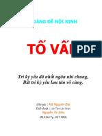 HOÀNG ĐẾ NỘI KINH (toàn tập)