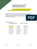 IEEE DFR Report