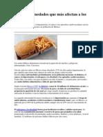 Las 5 enfermedades que más afectan a los mexicanos